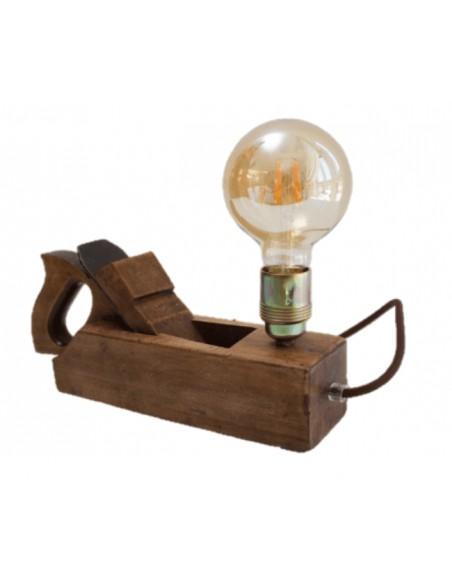 Lámpara Cepillo de Madera