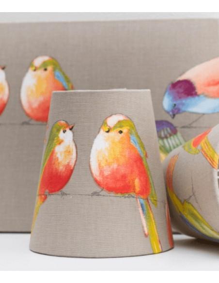 Pantalla Pájaros Silvestres Circulares